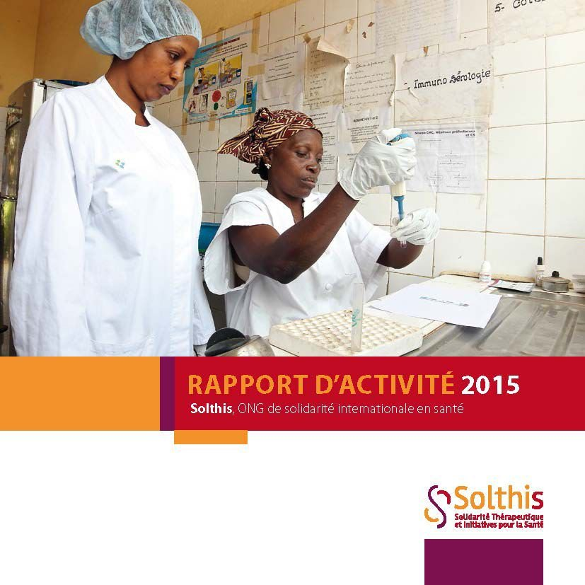 Couverture rapport solthis 2015