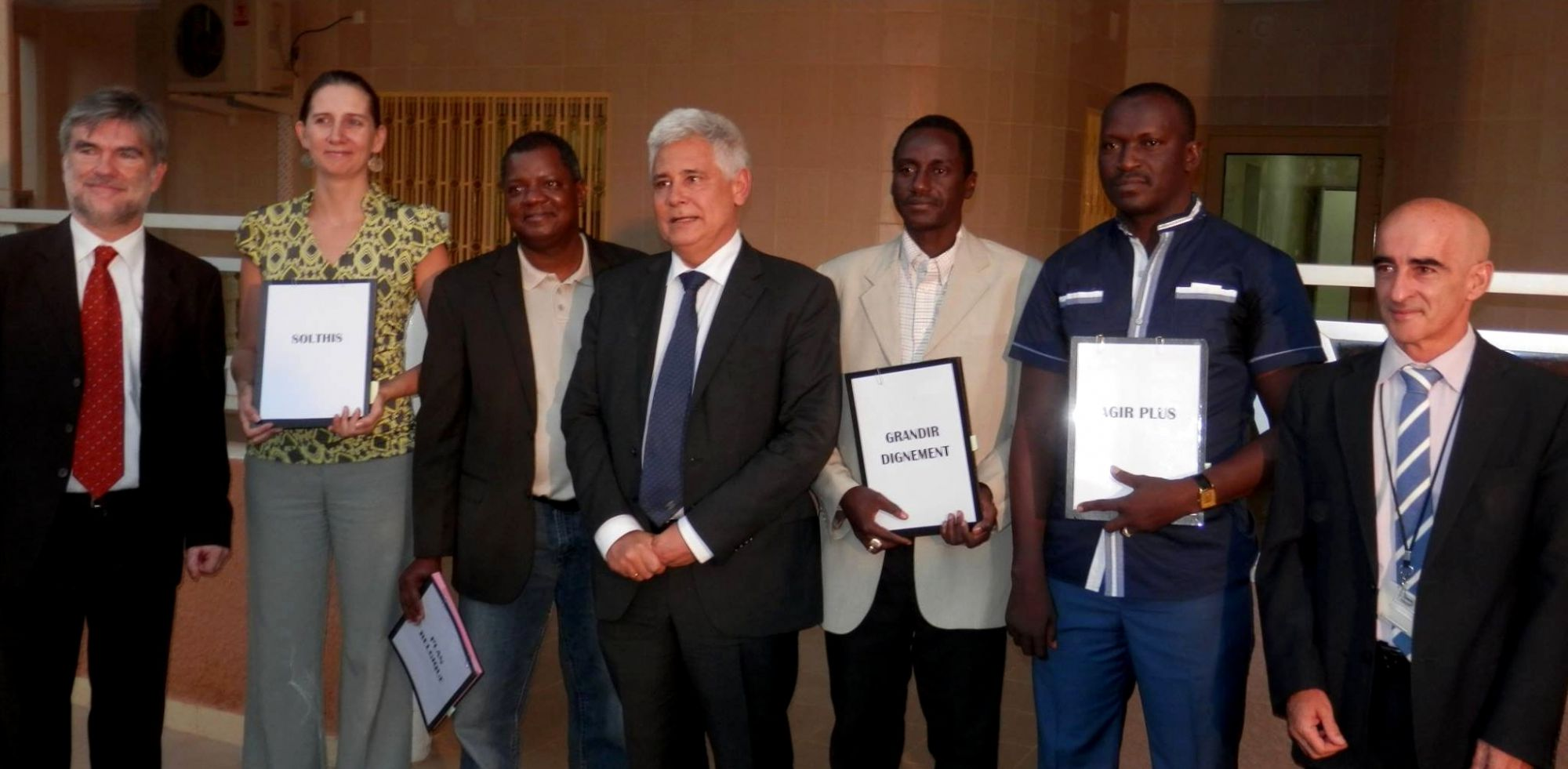 Signature projet prison UE Niger