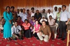 Page 23 Atelier Sierre Leone Octobre 2011Atelier avec les partenaires - Sierra Leone, octobre 2011