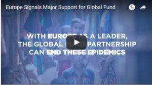 La Commission Européenne annonce  470 Millions € de promesse de don pour le Fonds Mondial pour 2017/2019