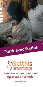 1ere page Flyer Partir avec Solthis