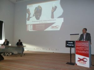 Intervention au symposium de Louis Pizarro