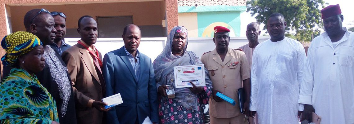 Medical equipment for the infirmaries of the Niamey and Say prisons