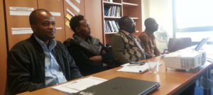 Training week for the 4 country coordinators of the OPP-ERA project