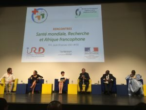 "Scientific comference ""Global Heallth, research and Africa French-speaking countiries"" : Intervention of Solthis"