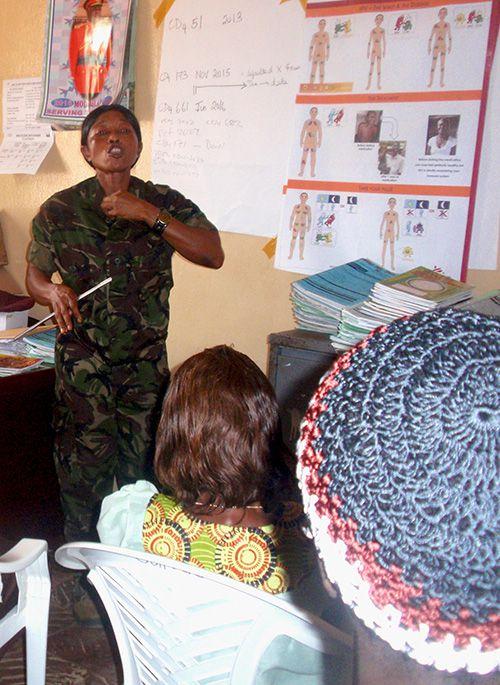 Sierra Leone- Projet Empower : séances de sensibilisation