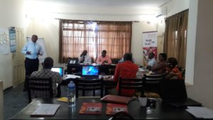 Empower Project:  NETHIPS management and coordination capacity training by Solthis and the Commission of Human Rights in Sierra Leone