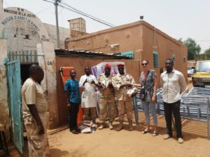 Niger : Donation of medical equipment to Niamey and Say prisons