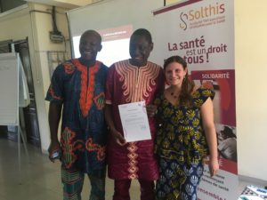 Guinea: operational research training to improve HIV care